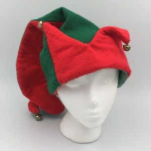 Santa's Best Elf Christmas Hat Size M